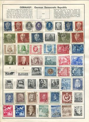 Picture of GERMANY: DEMOCRATIC REPUBLIC ON HARRIS ALBUM PAGES 1950 TO 1989!
