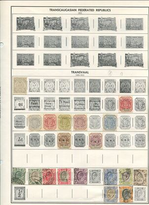 Picture of VARIOUS BRITISH COUNTRIES ON ALBUM PAGES 1885 TO 1983!