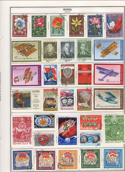 Picture of RUSSIA ON ALBUM PAGES 1974 TO 1984!
