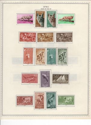 Picture of ICELAND/IFNI ON ALBUM PAGES 1873 TO 1965!