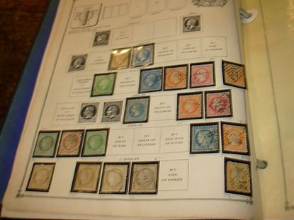 Picture of VERY NICE HUGE FRANCE AND COLONIES COLLECTION IN SCOTT ALBUM-COMPLETE!