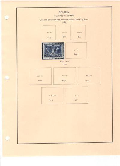 Picture of BELGIUM ON ALBUM PAGES