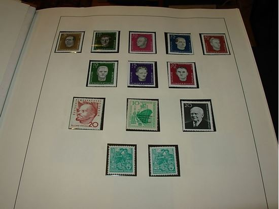 Picture of GERMANY DDR MNH COLLECTION IN LINDNER HINGELESS ALBUM-1960-1968!