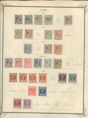 Picture of CUBA ON SCOTT SPECIALTY ALBUM PAGES 1855 TO 1952!