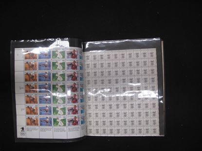 Picture of MINT SHEET FILE BOOK WITH US SHEETS $82.00 FACE!