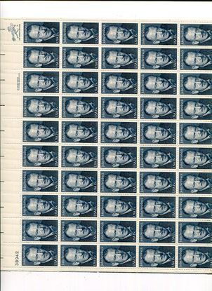 Picture of $105.00 Face Us Postage In Full Sheets Of 50 All 15 Cents