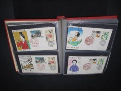 Picture of 1955-1956 Japan Woodblock FDC Collection 100+